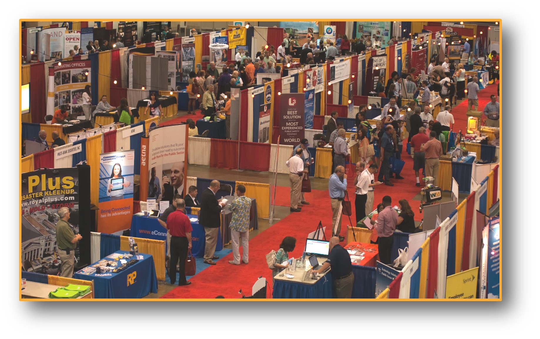 Exhibit hall SC15