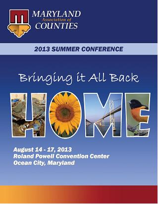 2013 Summer Conference Brochure Cover