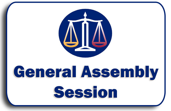 General Assembly Session Graphic